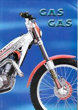 A3 Original new old stock GasGas Trials brochure with poster