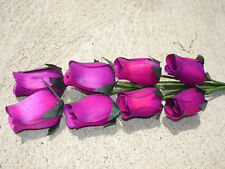 80 pc. Wood Roses Flowers Wholesale Lot Fundraisers Bulk Floral Craft Purple #7