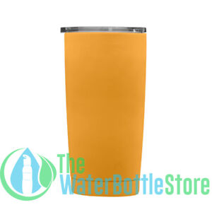 GEO 20oz Double Wall Vacuum Insulated Stainless Steel Tumbler Coffee Mug Mango