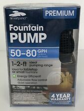 Premium Fountain Pump 50-80 GPH Water Gardening Decoration Water Features