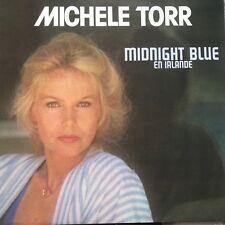"VINYLE - DISQUE VINYL 33 T LP FR /MICHELE TORR""MIDNIGHT BLUE EN IRLAND"""
