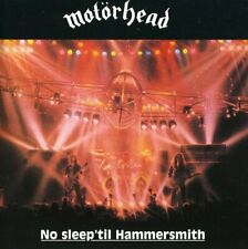 "MOTORHEAD  "" NO SLEEP 'TILL HAMMERSMITH "" CD BRAND NEW & SEALED"