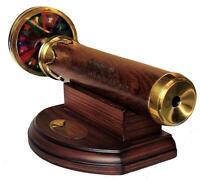Handmade Brass Working 6 Inches Kaleidoscope Best Birthday Gift for Children
