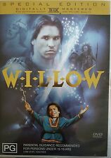WILLOW SPECIAL EDITION DELETED RARE DVD WARWICK DAVIS GEORGE LUCAS LUCASFILM OOP