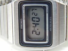 SEIKO 1979 VINTAGE LCD EARLY GENTS FO39-5010-CO DIGITAL WATCH