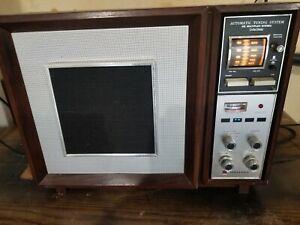 Mid-Century Panasonic Model RE-787 Stereo AM/FM Wood Radio Auto Tuning , WORKS !