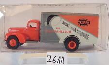 Brekina 1/87 49015 Ford FK 3500 LKW Koffer Hella Licht und Signale OVP #2611