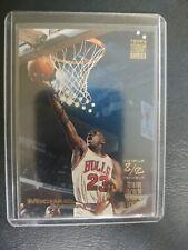1993-94 Topps Stadium Club Michael Jordan #1 Triple Double Chicago Bulls HOF