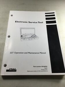 Case New Holland Electronic Service Tool Laptop Operators Manual (Oct. 2011)
