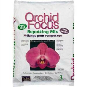 ORCHID FOCUS 3L REPOTTING MIX