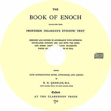 Book of Enoch - 1 Enoch - Non-Canonical Christian Bible Text - Book on CD