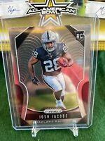 2019 Panini Prizm Football Josh Jacobs Rookie RC #323 Las Vegas Raiders