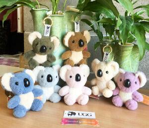 Australian Sheepskin Souvenir Koala Soft Plush Cuddly Stuff Toy Kids Gift Animal