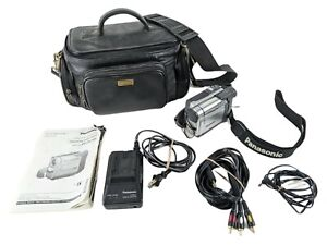 Panasonic PV-DV103 MiniDV Digital Camcorder Bundle w Charger, Battery, Cables
