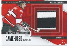 2013-14 ITG Heroes and prospects AARON EKBLAD #SSM-09 Game Used Patch Silver /10