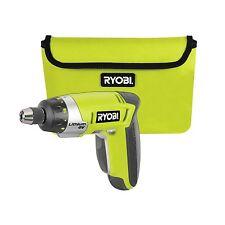 Ryobi CORDLESS SCREWDRIVER 4V Li-Ion+Tool Bag CSD4107, LED,Compact & Lightweight