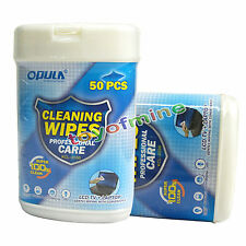 New Soft Laptop Computer Monitor LCD TV Screen Cleaning Clean Wet Wipes 50PCs