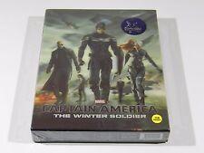 Captain America The Winter Soldier (3D+2D) Blu-ray Steelbook KimchiDVD #380/1500