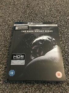 The Dark Knight Rises 4K Ultra HD - Limited Edition Blu-Ray Film Book sealed