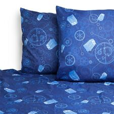 DOCTOR WHO DR OFFICIAL LICENSED BBC KING SIZE SHEET SET TARDIS POLICE BOX GEARS