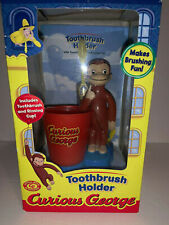 New Curious George Toothbrush Holder