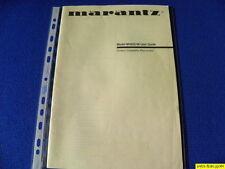 Marantz MV623/08 Du propriétaire Manual Operating Instructions Instructions Neuf
