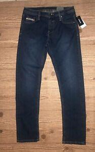 Diesel Waykee J US Boys Jeans Size 14 NWT Regular Straight Stretch