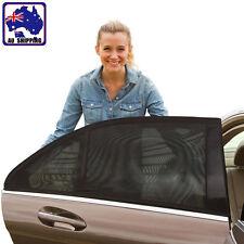 2pcs Car Door Window Sunshade Viser Cover Sun Shade Mesh Net 54x92cm VWCU67205x2