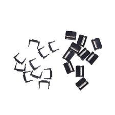10X FC-10P IDC 2.54mm Connector Female Header 10pin 2x5 JTAG ISP Socket Black EP