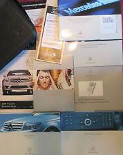 2008 MERCEDES C-CLASS OWNERS NAVIGATION COMAND iPod MANUAL & HARMON/KARDON DVD