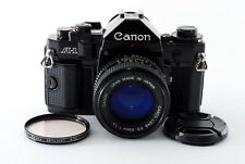 [Excellent Canon A-1 35mm Film Camera w/New FD 50mm f/1.4 from Japan #746444