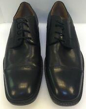Johnston & Murphy Knowland Cap Toe Oxford Black Men's 11 M NIB New 20-2071