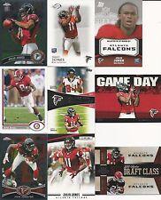 2011 11 Topps Chrome Julio Jones RC Atlanta Falcons Lot Alabama