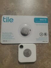 Tile RT-13001 Mate Replaceable Battery Item Tracker with additional new battery!