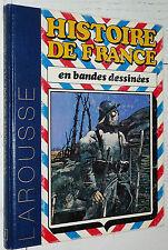 LAROUSSE HISTOIRE FRANCE BANDES DESSINEES ROMBALDI N°8 (22-23-24)