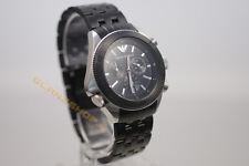 Armani RELOJ HOMBRE CRONÓGRAFO ar0547 top de lujo reloj negro Top Design de lujo nuevo