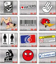 10 Drift Sticker-Set nach Wahl-Tuning Aufkleber Stickerbomb-Skater-Pc-Auto-Decal