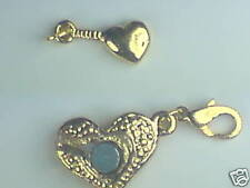 2 x GOLD HEART SuperStrong Jewellery Clasp Converters.