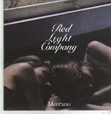(CB511) Red Light Company, Meccano - 2008 DJ CD