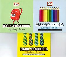 BACK TO SCHOOL - 3 DISCS - VARIOUS ARTISTS - DAILY STAR PROMO MUSIC CD