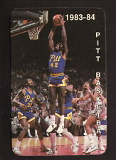 Pittsburgh Panthers--1983-84 Basketball Pocket Schedule