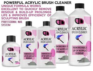 Acrylic Nail Brush Cleaner POWERFUL Liquid Cleaner for Acrylic Brushes UK Seller