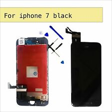 Black Screen Digitier Display Touch Replacement at iPhone 7 New and tools