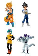Bandai Dragon Ball Z DBZ Super HG Gashapon Figure 3 Goku Vegeta Bulma set 4 pcs