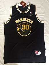 Brand New Stephen Curry Stitched Jersey Men's Size XL Black/Yellow U.S Seller