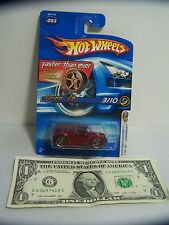 Hot Wheels Clear Red  Scion XB - X-Raycers #3 Of 10 - First Editions #53 - 2006