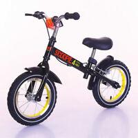 Scoopie Laufrad Kinderlaufrad Roller Lernlaufrad Lauflernrad Kinderrad schw/gelb