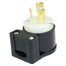 NEMA L5-15P 15A 125V 3W Heavy Duty Male Twist Lock Industrial Electrical Plug