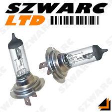 55W bombillas halógenas H7 12V Faros Faro luz clara del haz de cruce Lámpara 499 X 2