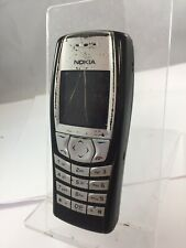 Cracked Nokia 6610i Unlocked Black and Silver Mobile Phone